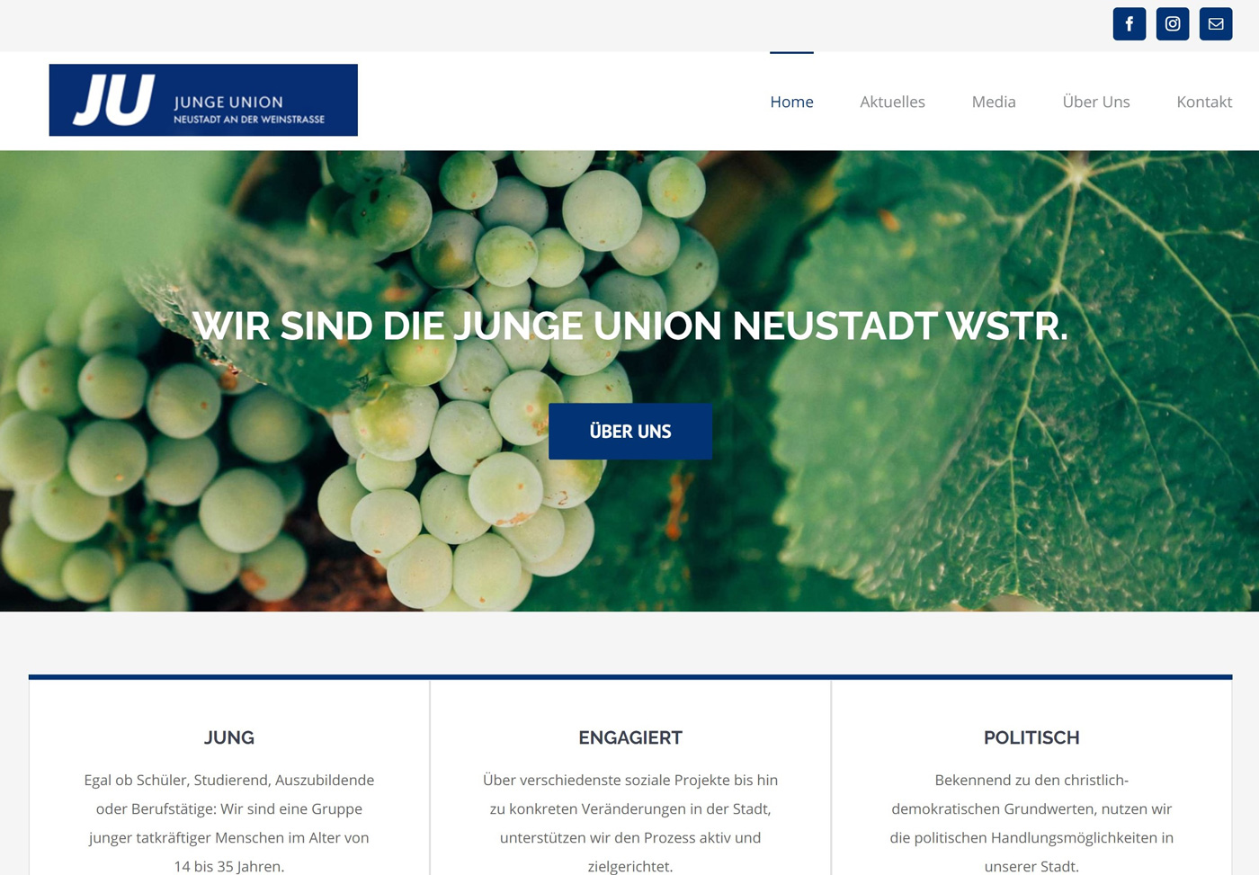 SquaredWebdesign_Referenz_JungeUnion
